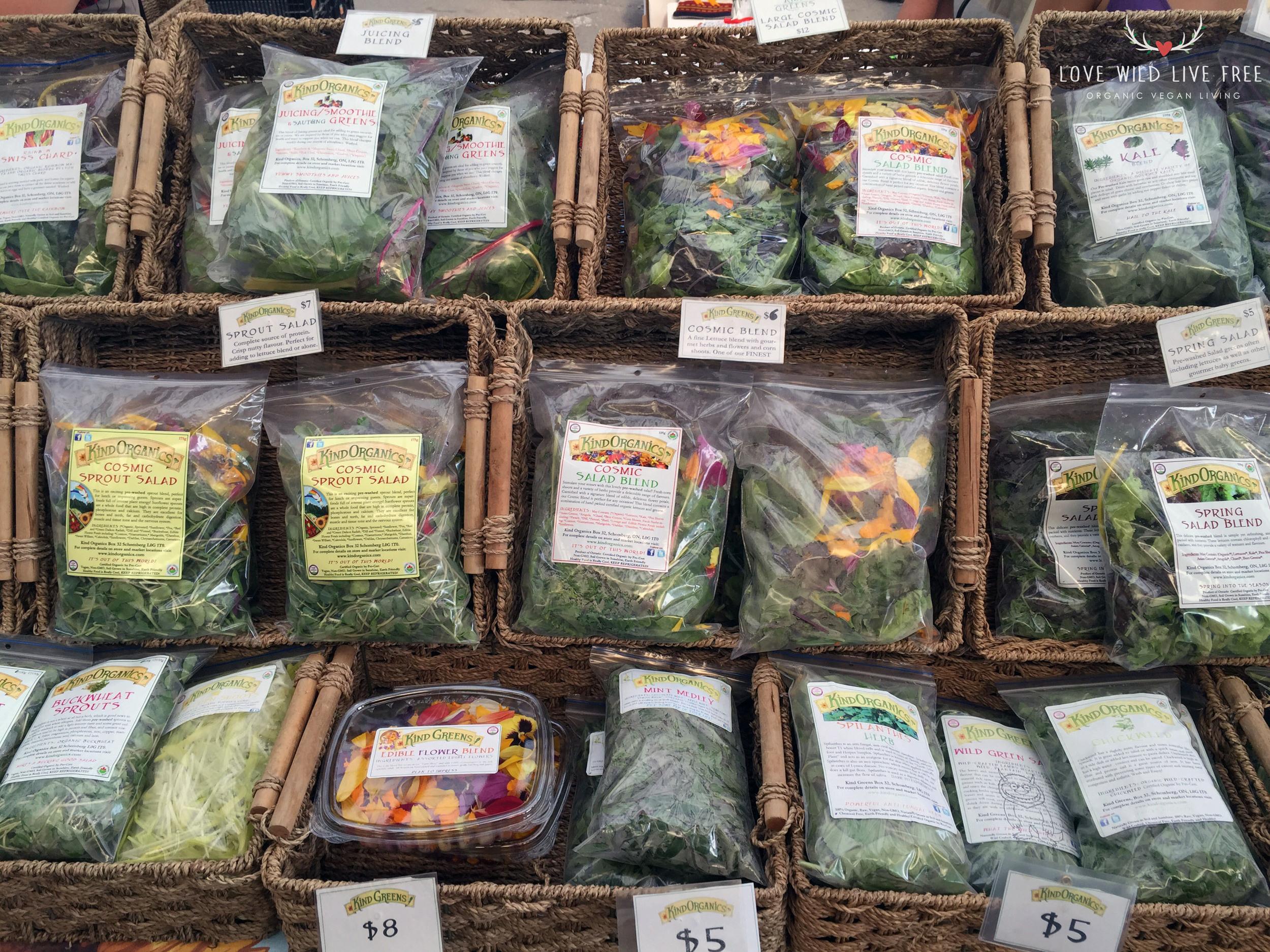 Kind Organics at Toronto's Evergreen Brick Works.  Photo by LoveWildLiveFree.