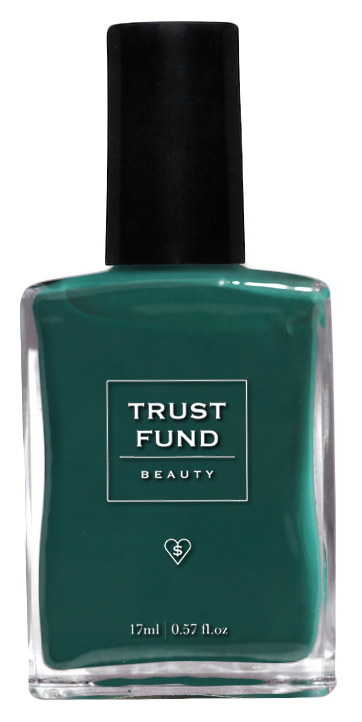 "allTRUEist carries this forest-fresh green nail polish hue ""I Kaled it"" from Trust Fund Beauty.  Photo courtesy of allTRUEist."