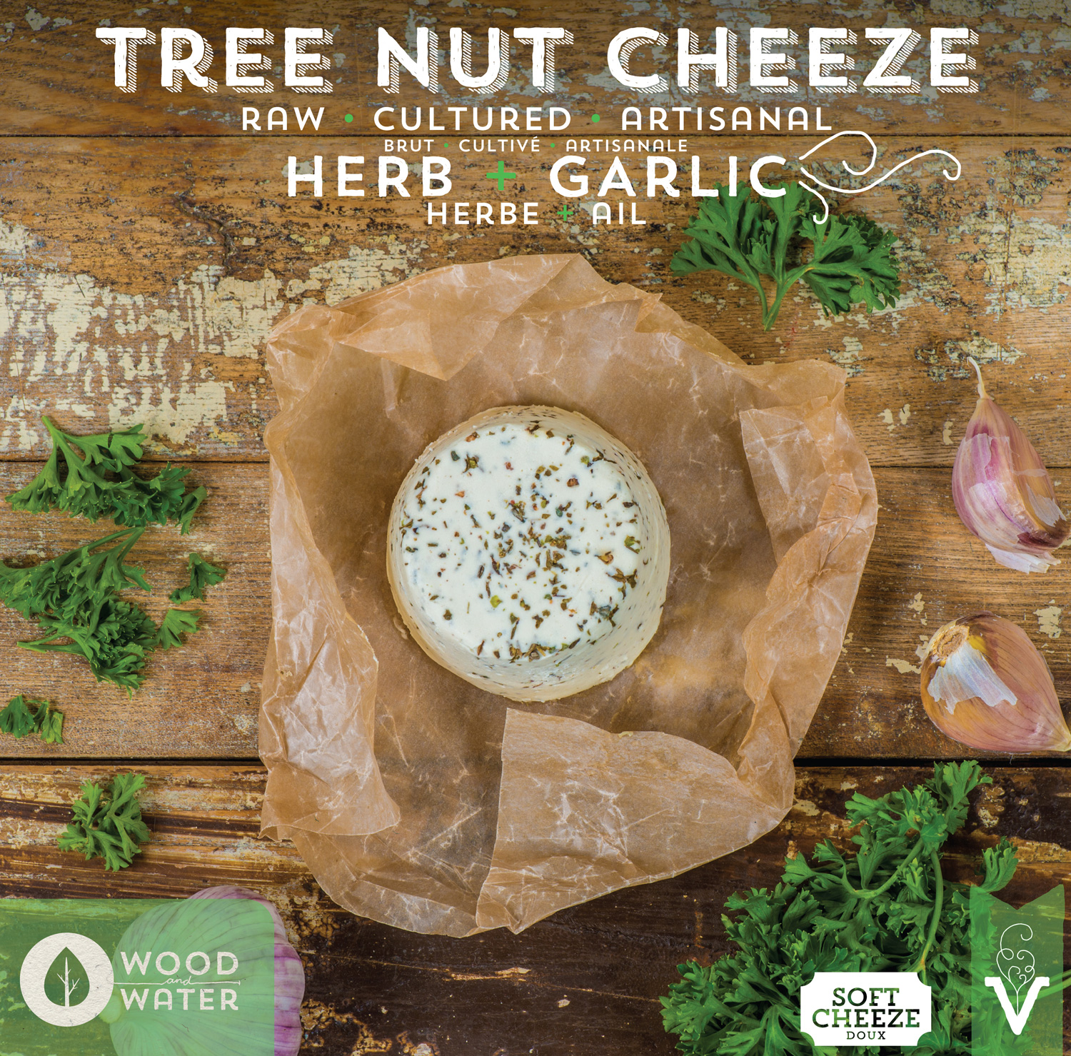 Buttery and savory, firm but creamy, with classic herbs and spices. Lovely on crackers, melted on a baked potato or pasta, or as a delicious spread on some sprouted toast. Photo by   Culcherd