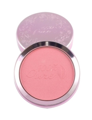 100% Pure Fruit Pigmented Peppermint Candy Blush is one of my favourite beauty products. It even smells like peppermint!  Photo source: www.100percentpure.com.