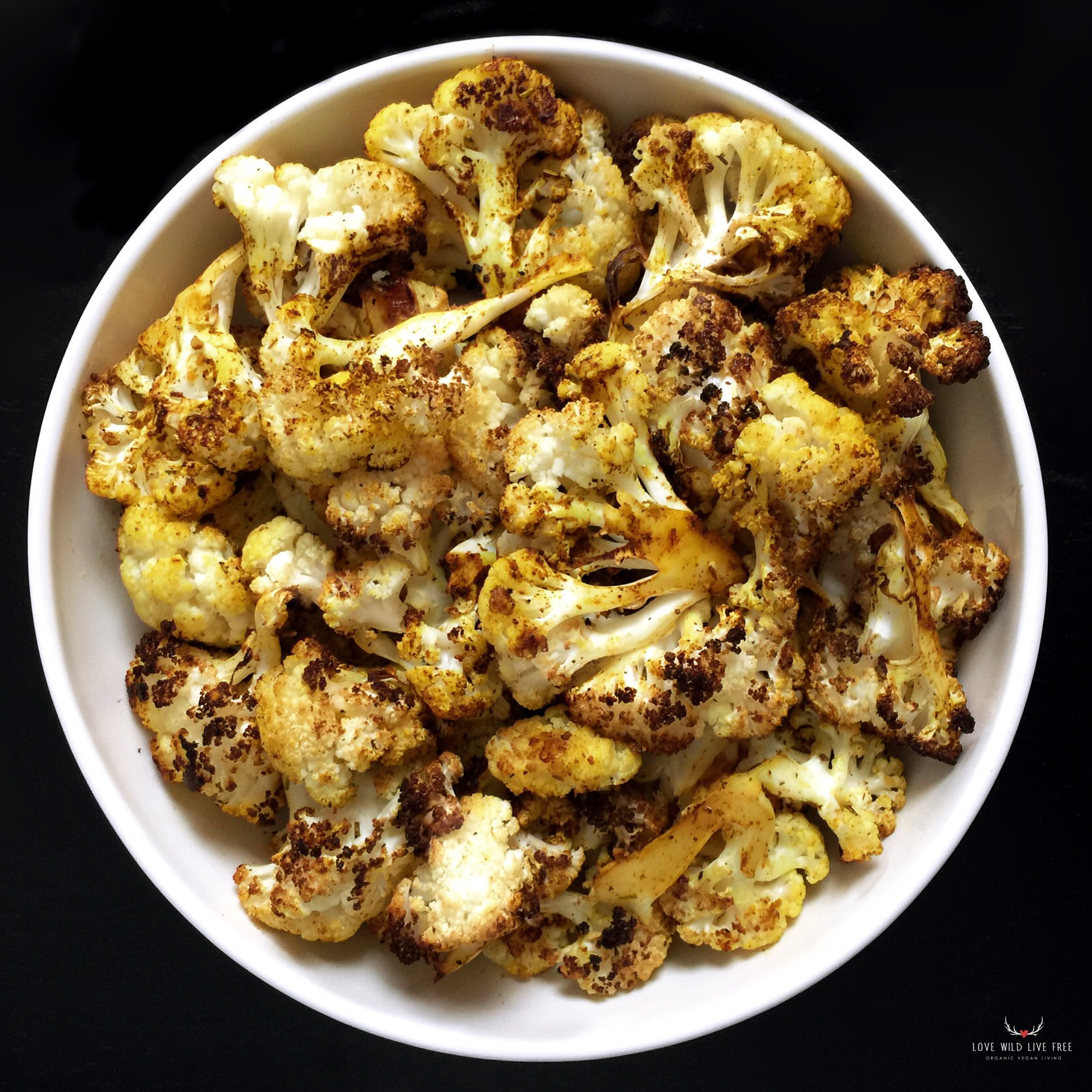 Roast cauliflower is one of the simplest dishes to prepare and is incredibly versatile in terms of flavourings options.