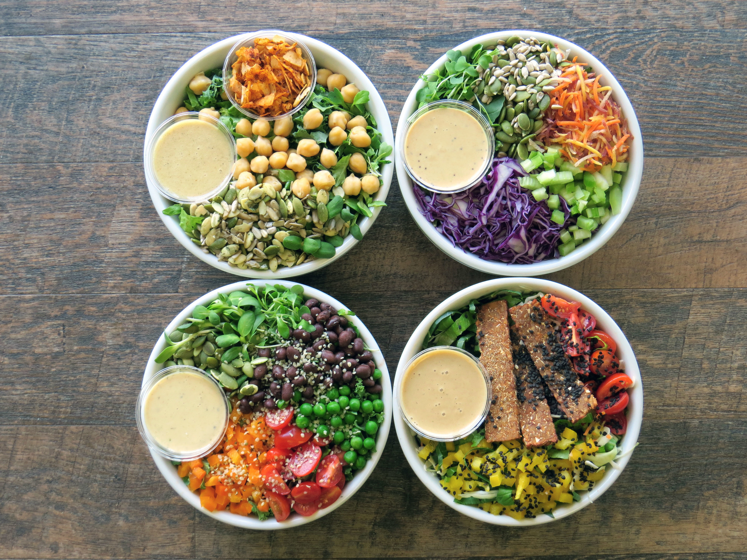 My friends at  RawFoodz will be serving delicious organic salads at the Vegan Food and Drink Festival - perfect for balancing out all that vegan junk food!  Photo courtesy of RawFoodz.