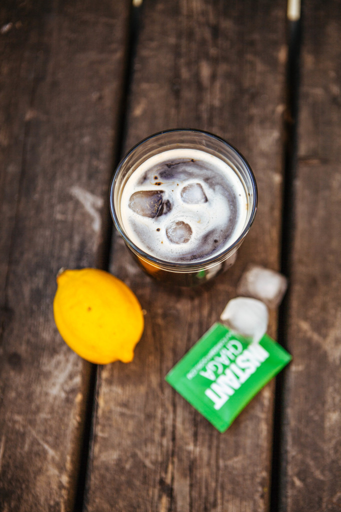 Visit today's Instagram post to enter to win a Four Sigma Prize Pack! You can also find the recipe for this refreshing Chaga Ice Tea from Four Sigmatic pictured above  here . Photo courtesy of Four Sigmatic.