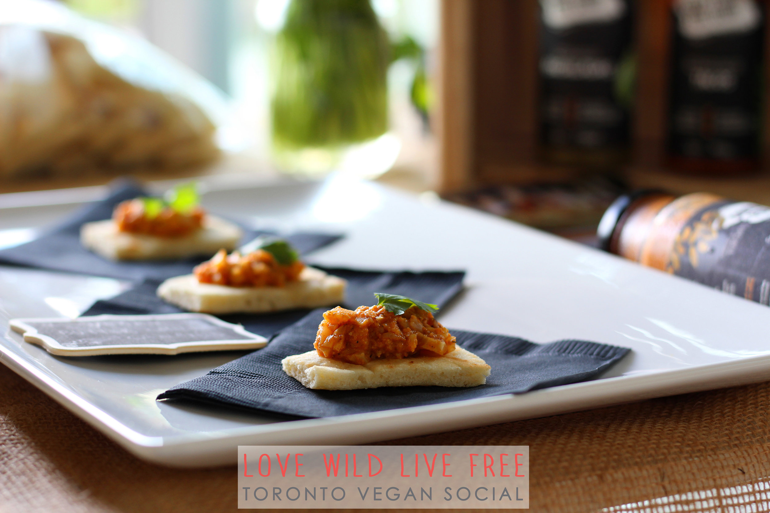 Good Food For Good  (Vegan Butter Chicken Canapé)