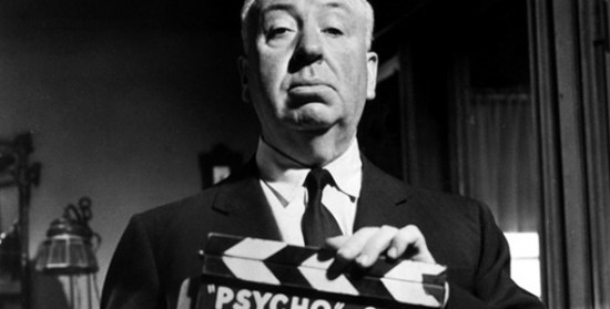 Director Alfred Hitchcock, the master of horror.