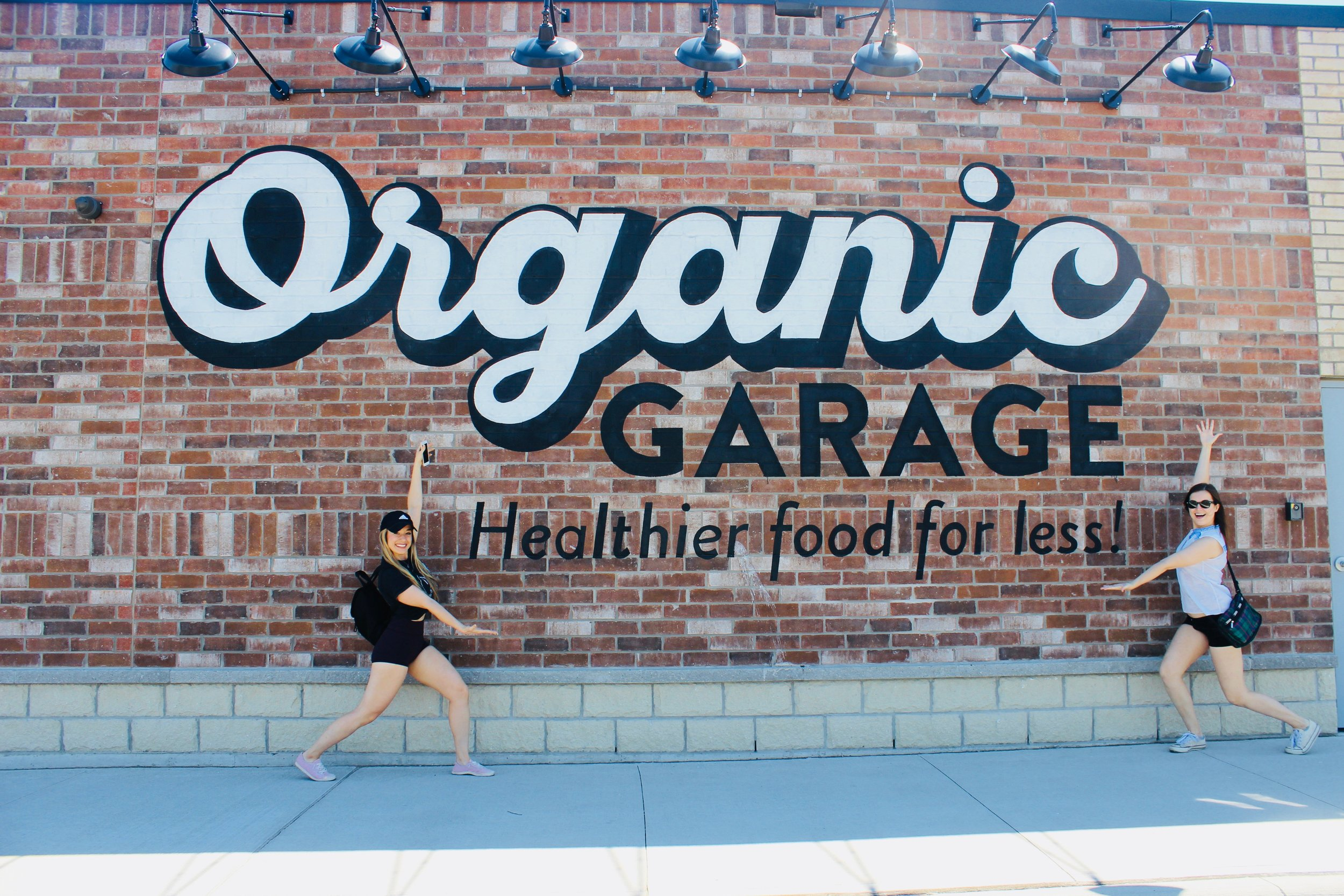 Organic Garage, a store with a healthy conscience.  Photo by    Kristy LaPointe    + Plant Based Kristy on    Instagram   .