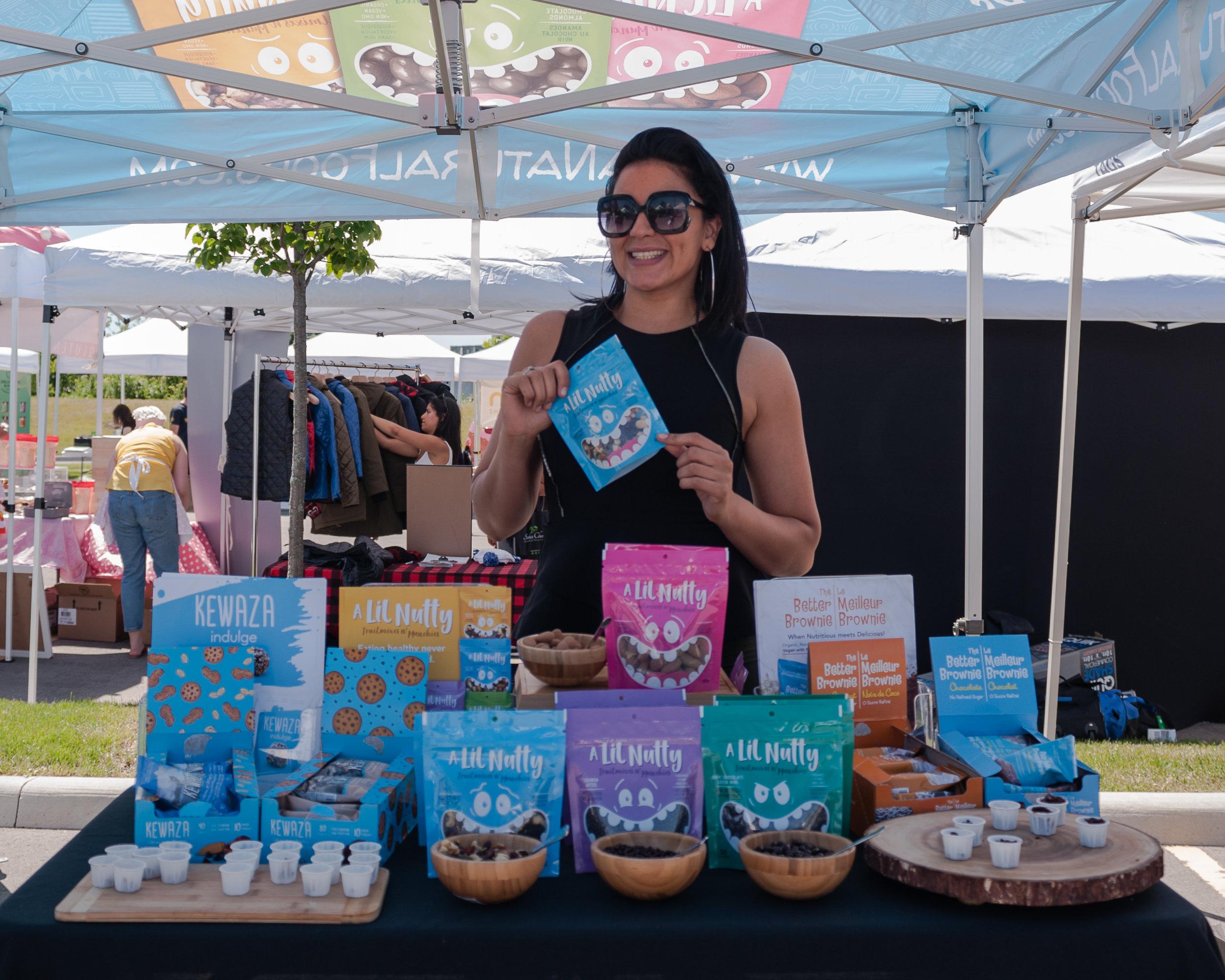 Sweet treats from  Koa Natural Foods !  Photo by:    LOF Photography   .