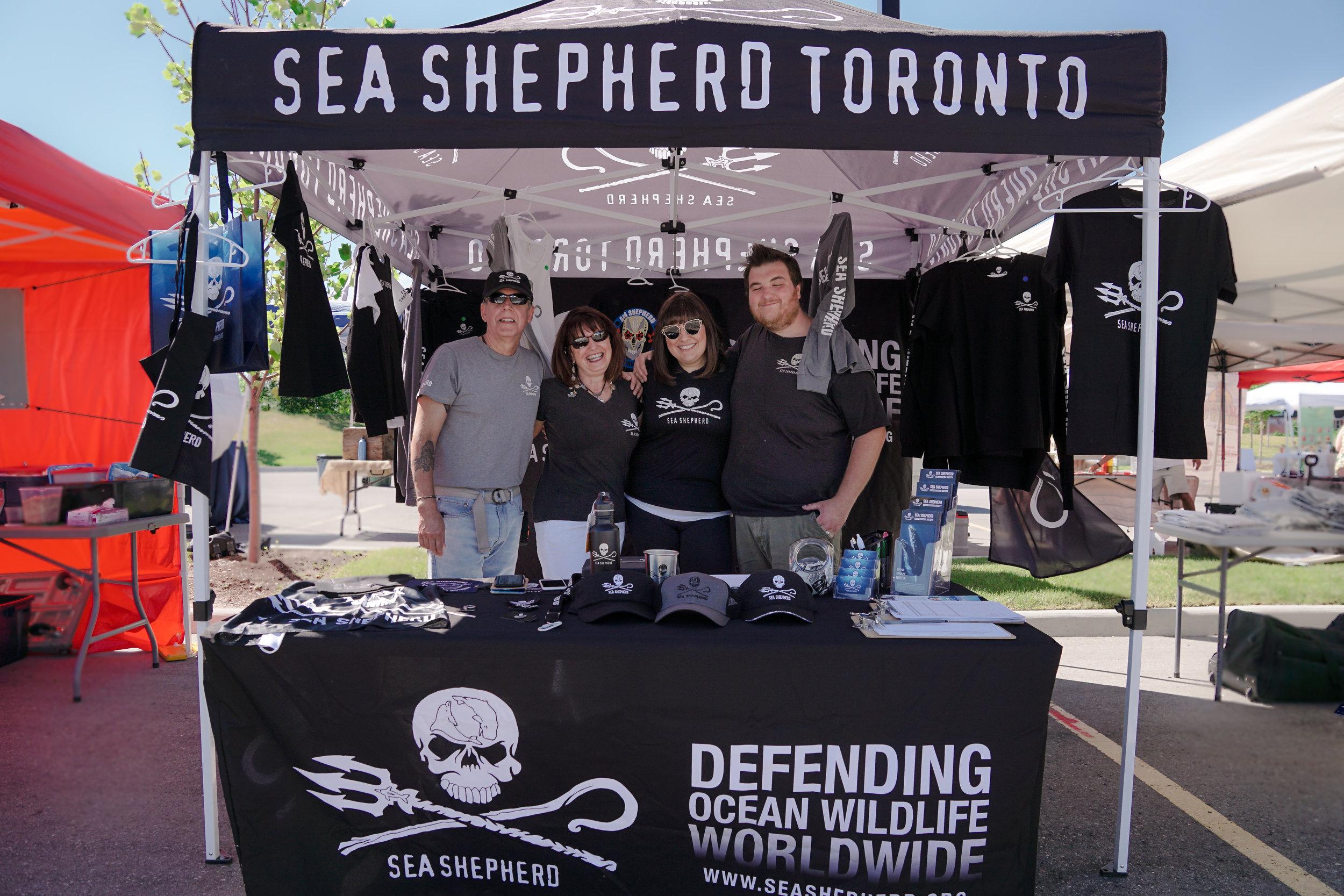 Sea Shepherd  Toronto.  Photo by:    Two Market Girls.