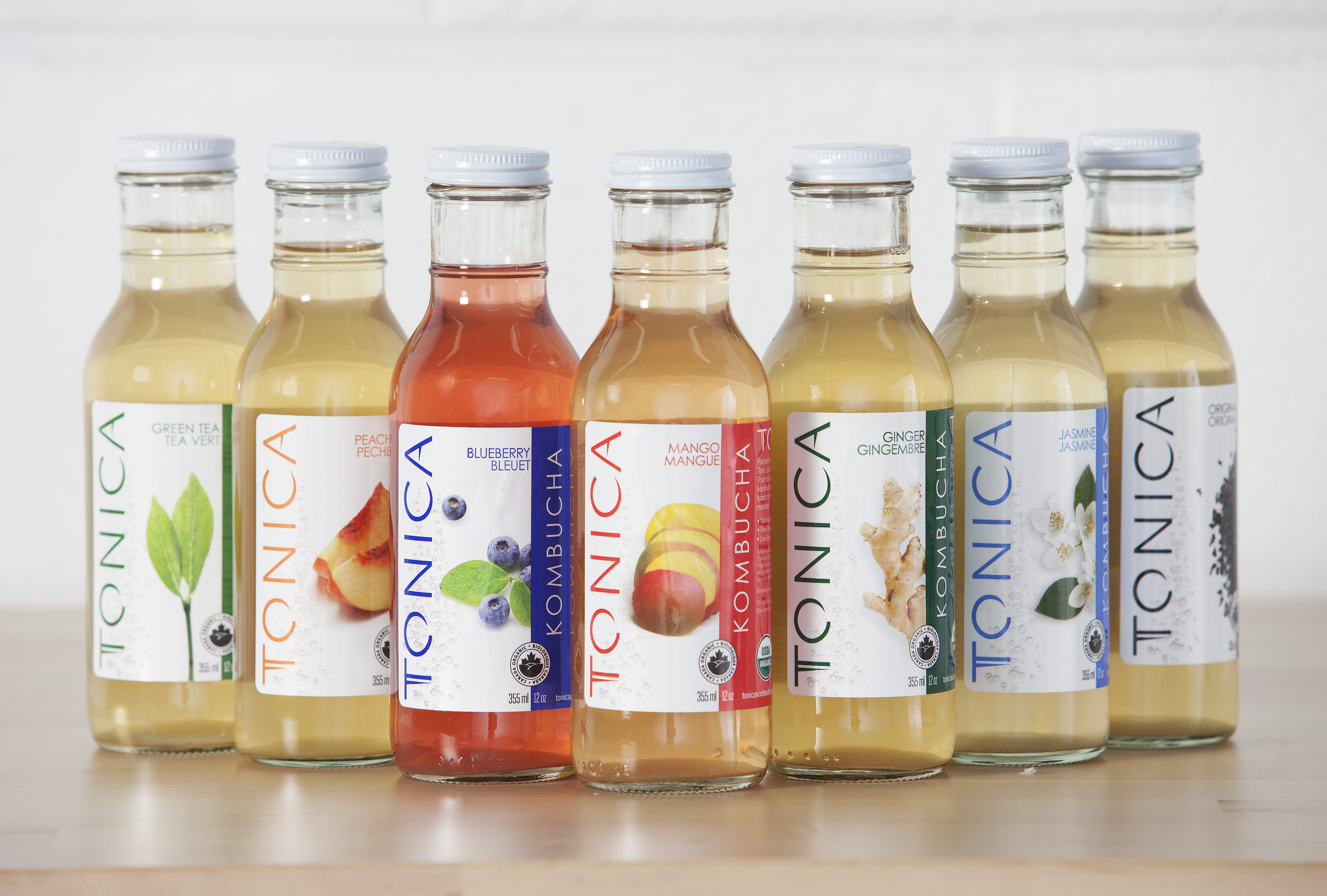 Tonica Kombucha   Tea is brewed and bottled in Toronto, Canada with all natural, raw, certified organic ingredients.