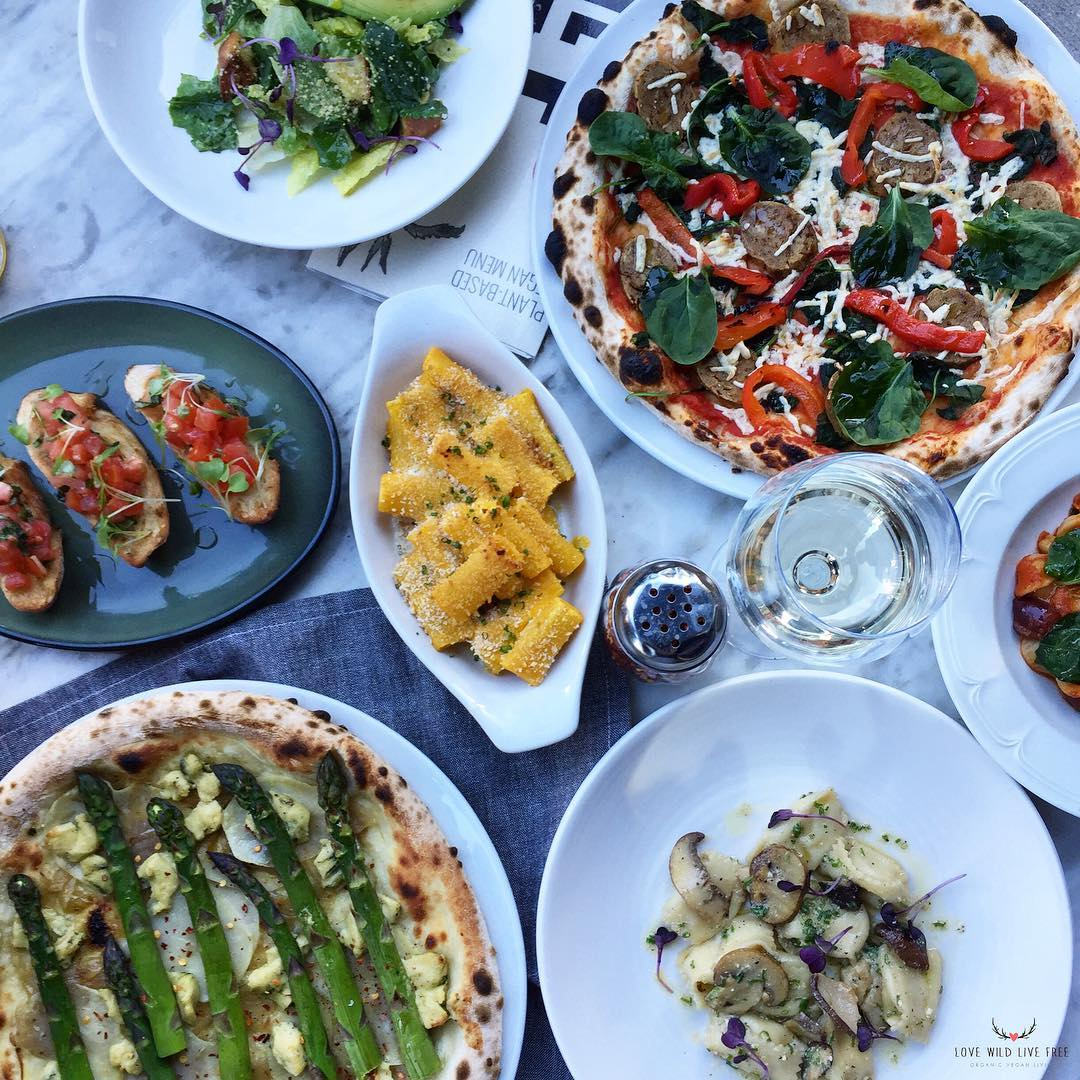 Il Fornello     - If you're looking for a restaurant with an abundance of vegan options, Il Fornello has you covered with their new vegan menu which features wood fired pizzastopped with  Nuts For Cheese  Blue Cheese &  Daiya Foods  cheese.