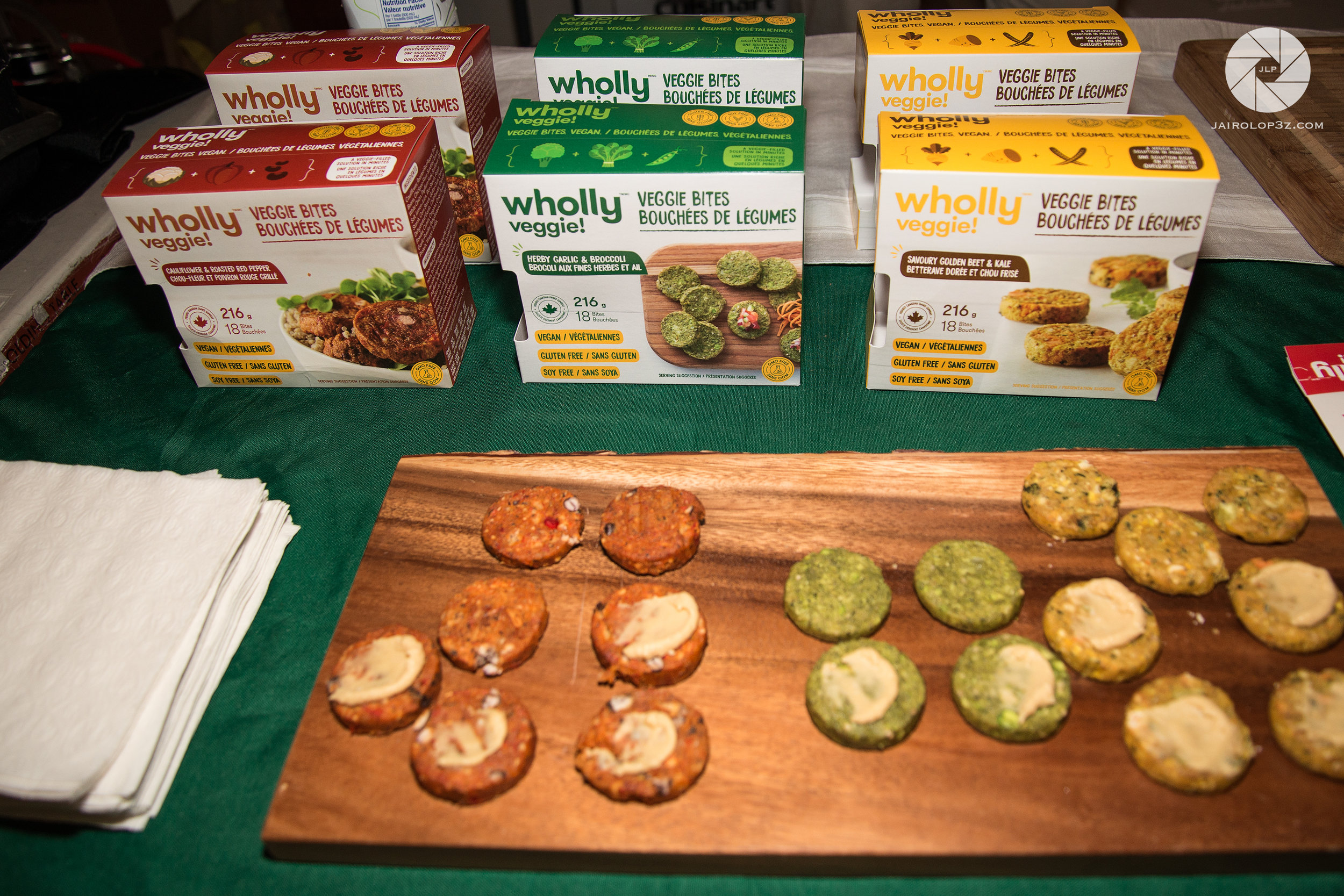 Vegan Burger Bites from  Wholly Veggie .  Photo by: Aaron Fisher.