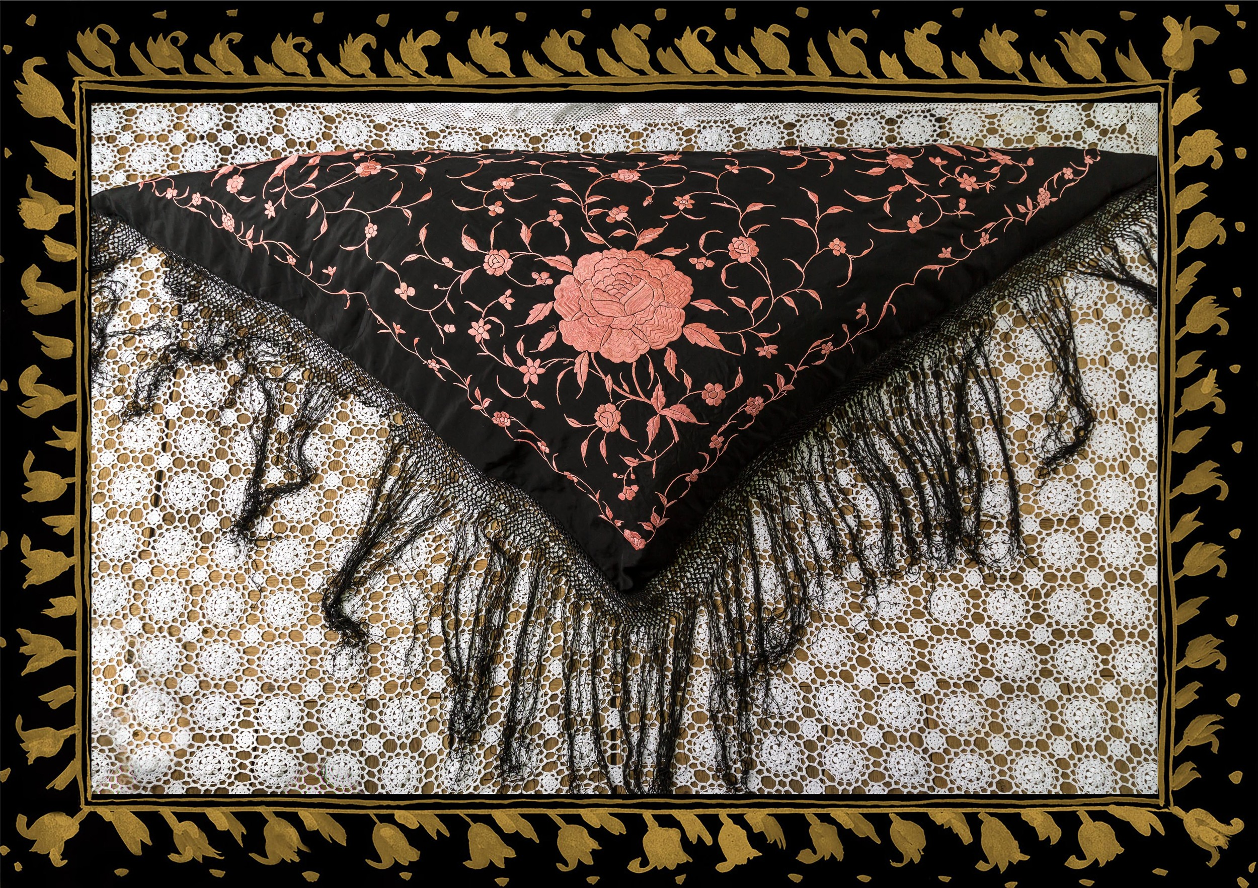 Shawl cushion