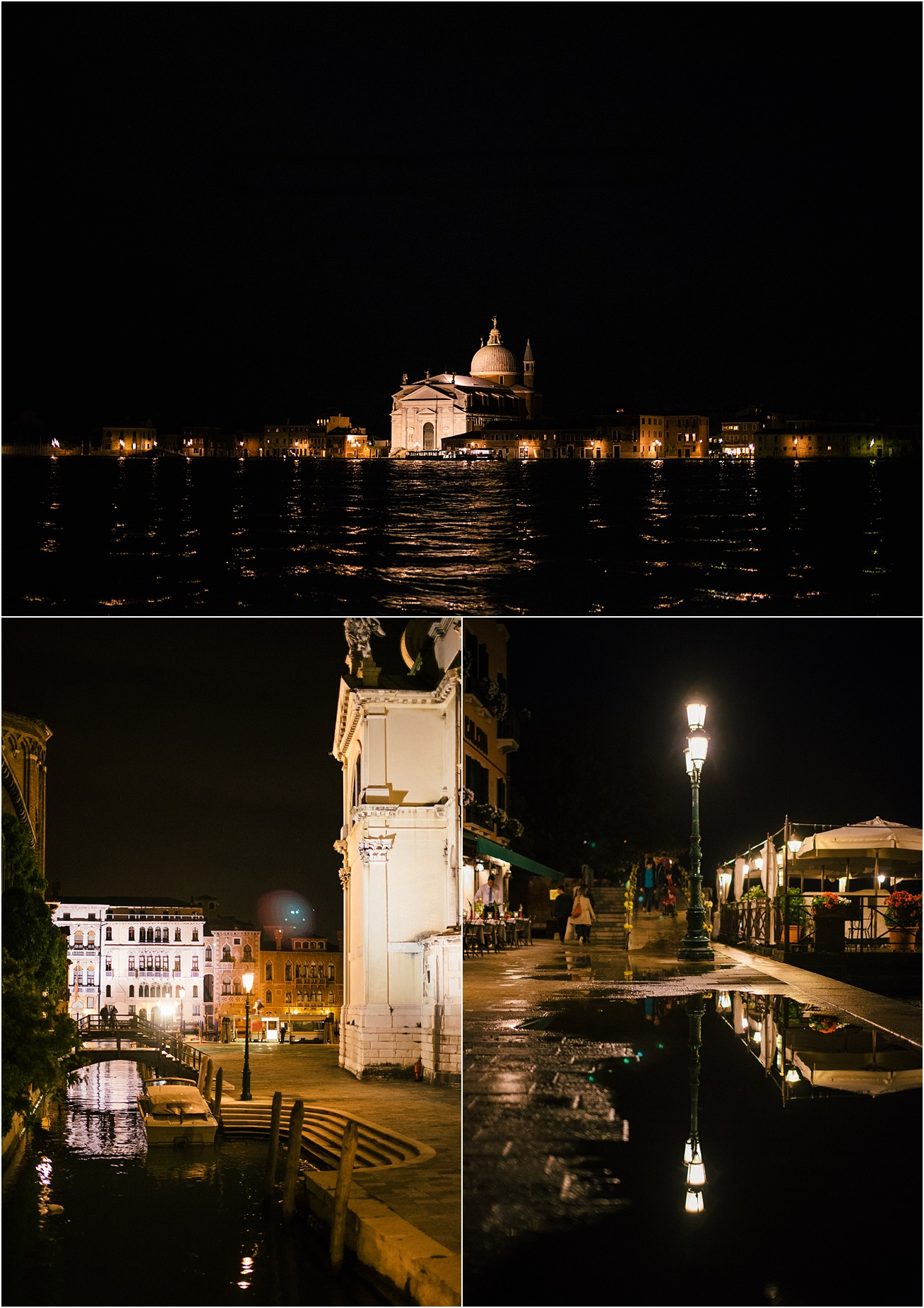 Night time in Venice, Italy