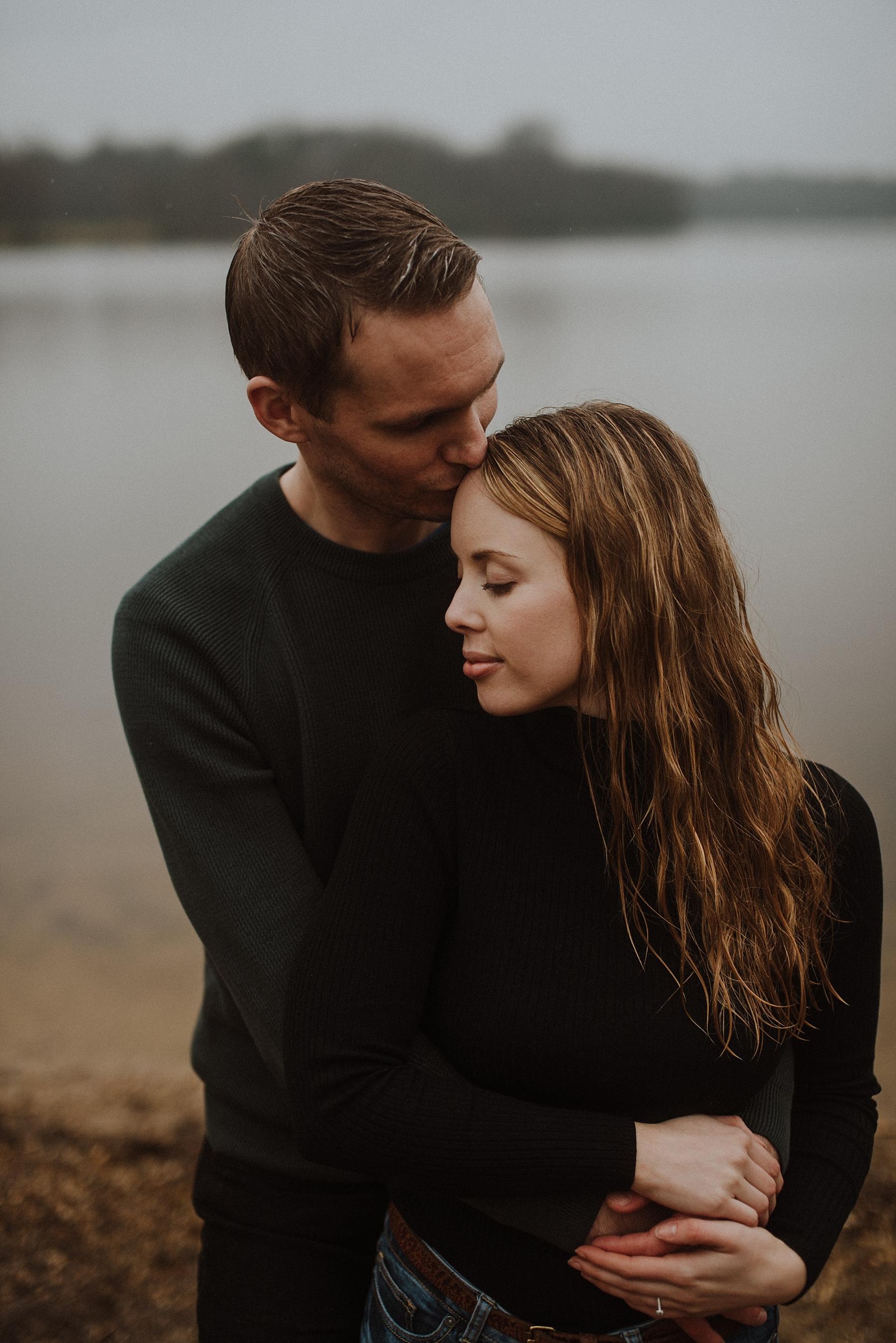 beautiful engagement photos in surrey
