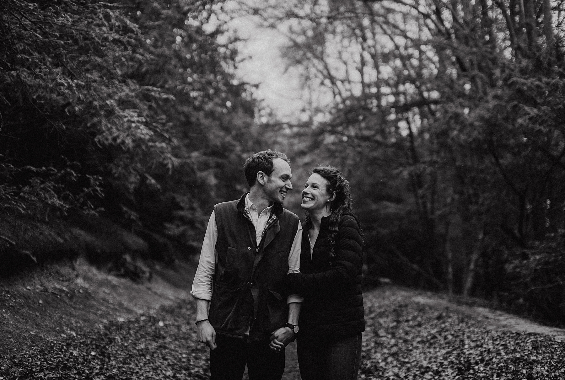 engagement shoot surrey hills