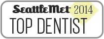 Dr. David Tobias won Seattle Met 2014 Top Dentist Award.
