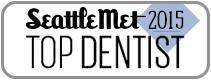 Dr. David Tobias won Seattle Met 2015 Top Dentist Award.