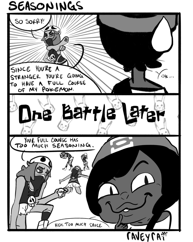 Funny Pokemon Black And White Comics alola, luna 015: seasonings — raveyrai