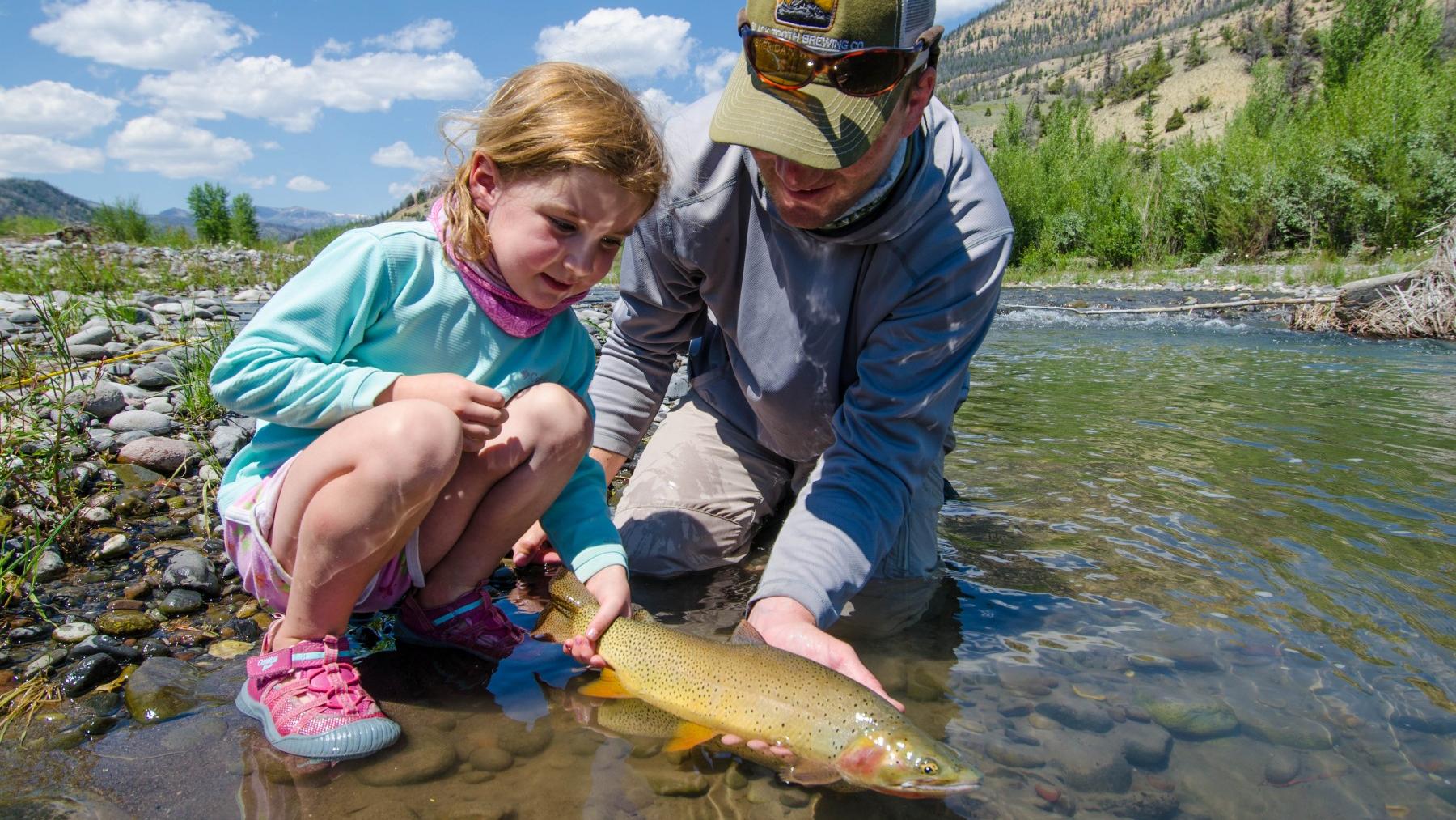 Custom Montana Fishing Trips, Cutthroat Trout