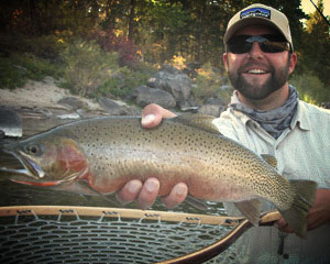 Adam Spenner, Fly Fishing