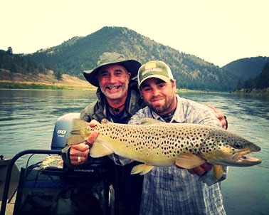 Forrest Fawthrop, Fly Fishing