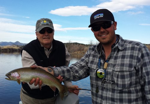 Tyson Nunley, Fly Fishing