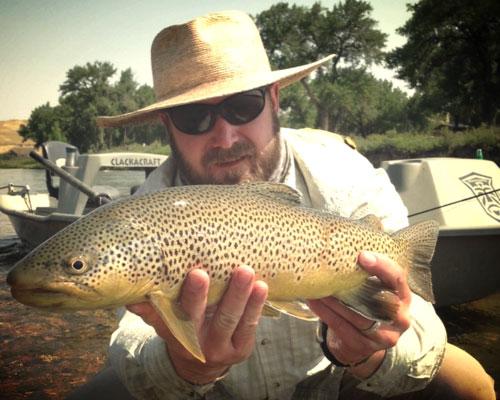 Tanner Duncan, Fly Fishing