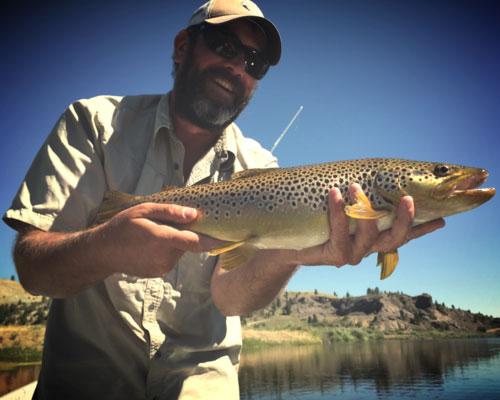 Drew Christian, Fly Fishing