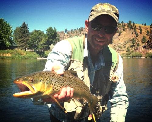 John LaRue, Fly Fishing