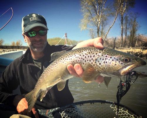 Steve Leibinger, Fly Fishing