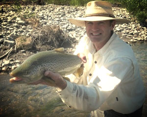 Sean Blaine, Fly Fishing