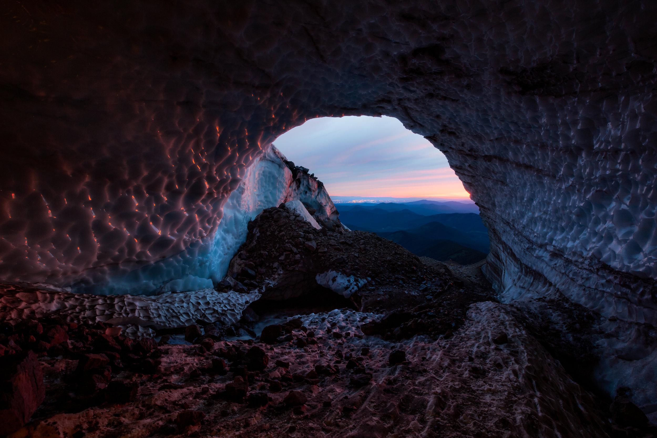 SGE_ sunset in the glacier -.jpg