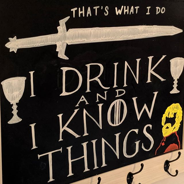 No more Game of Thrones 😭 Come drink and  know things with us. ⚔️ • #bar #gameofthronesquotes #drink #burbank #tolucalake #studiocity #losangeles