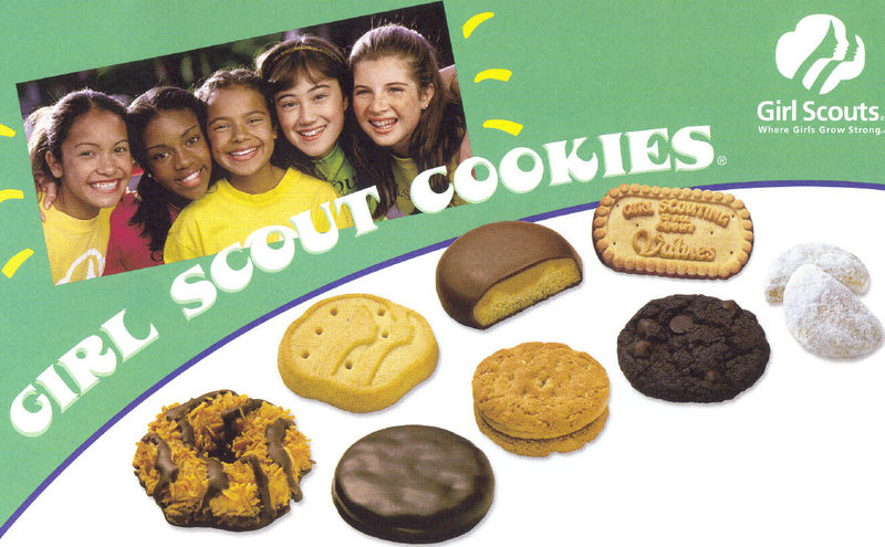 Girls Scout Cookies never tasted this good! -