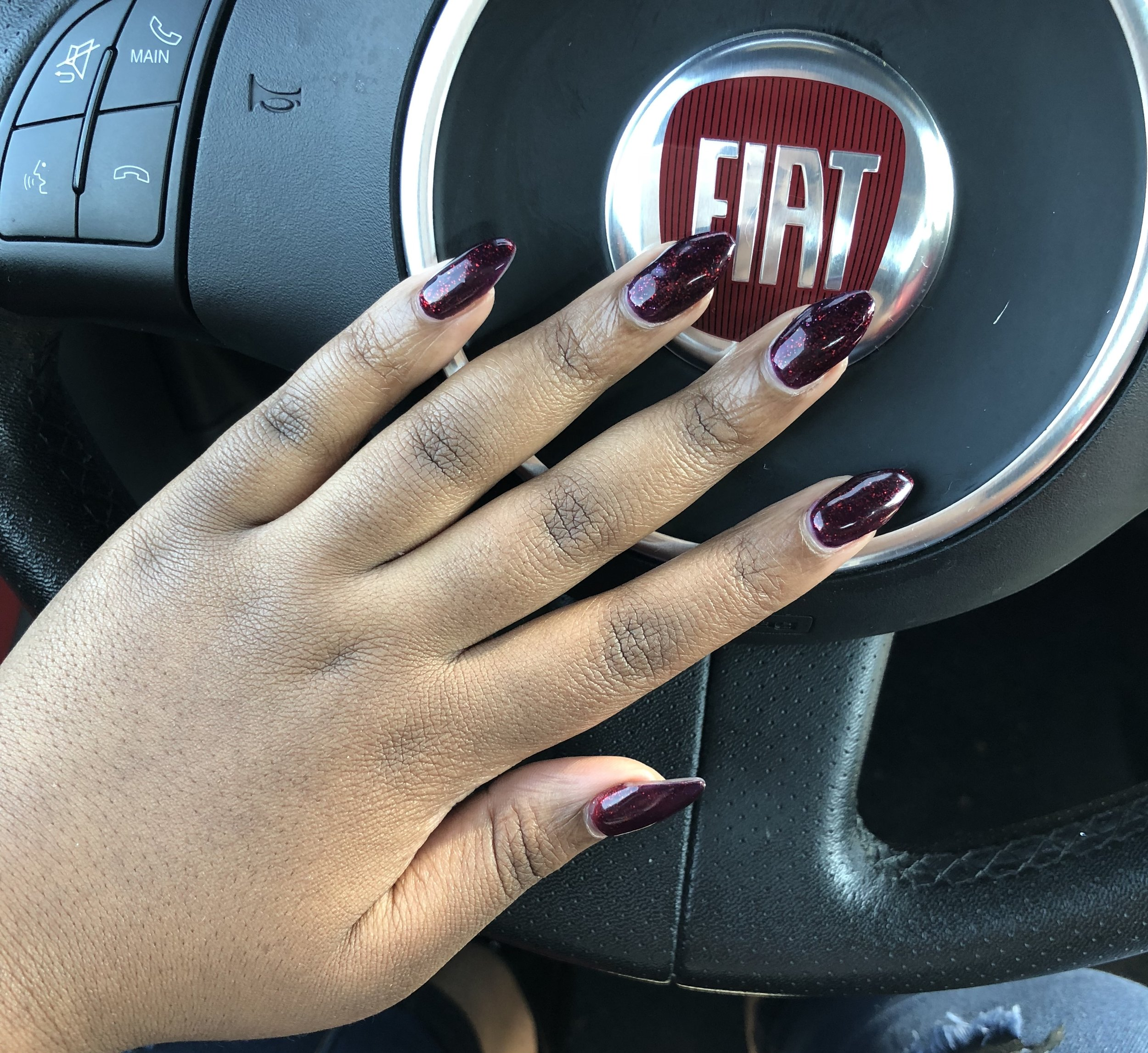 Purple nails appear when body temperature is cool.