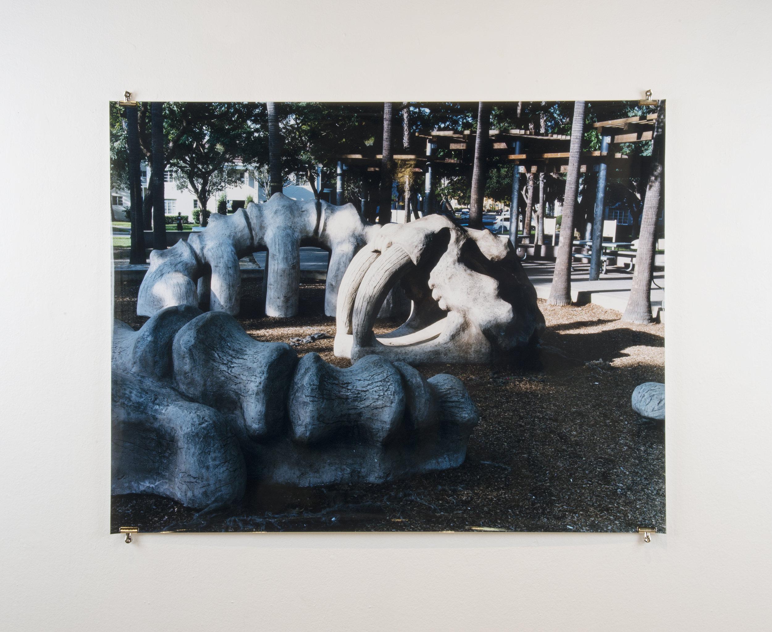Playground, 50in x 62in, Chromogenic Print.