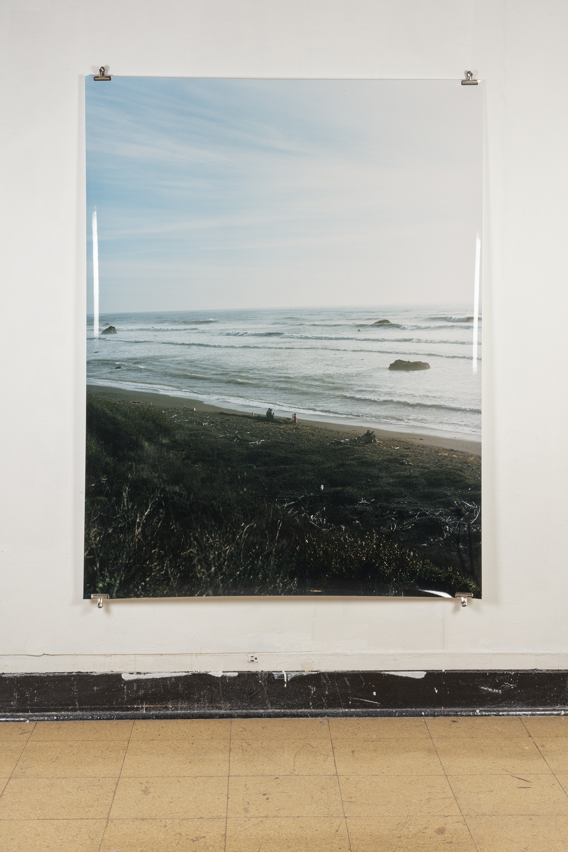 Antoine Midant    Lost Coast , 50 in x 64 in, C-Print.