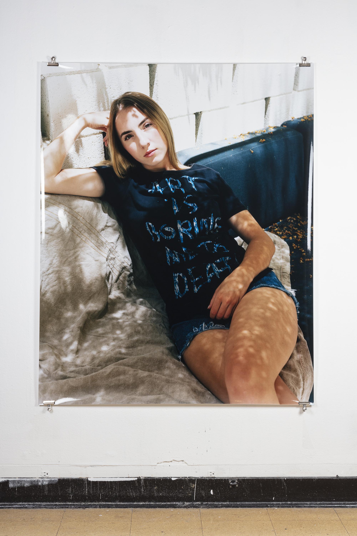 Antoine Midant    Dani , 50 in x 62 in, C-Print.