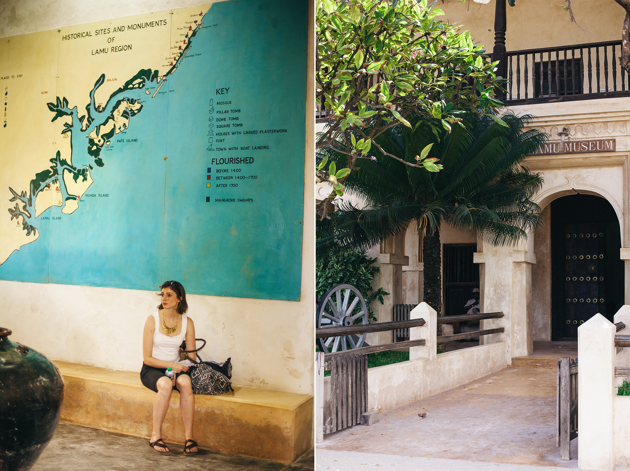 Lamu museum was filled with fascinating information!