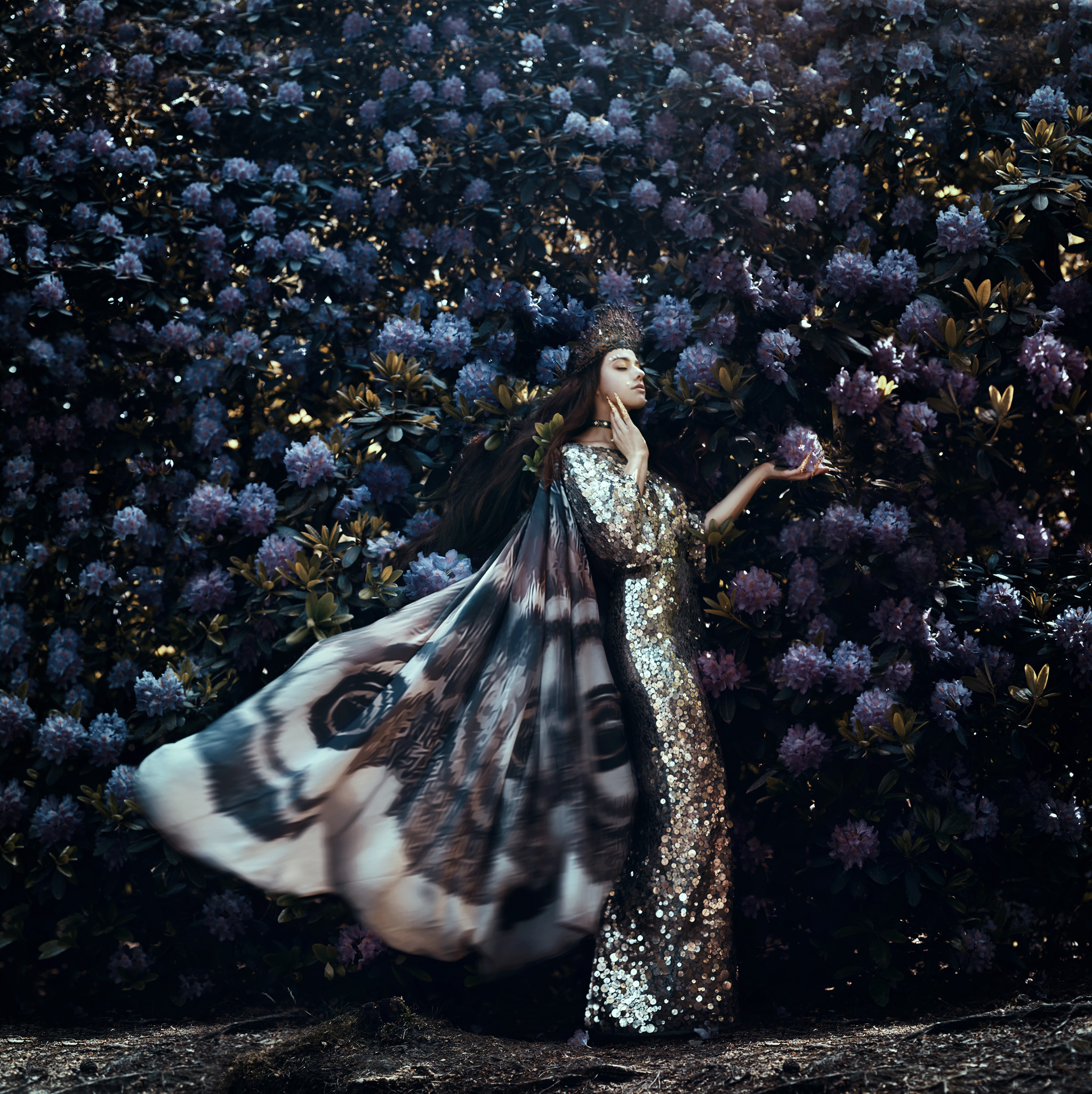 fairytale-bloom-moth-queen-royal-bella-kotak-rhododendron-magical-preraphelite-fantasy-photoshop-wings-fine-art-photography.jpg