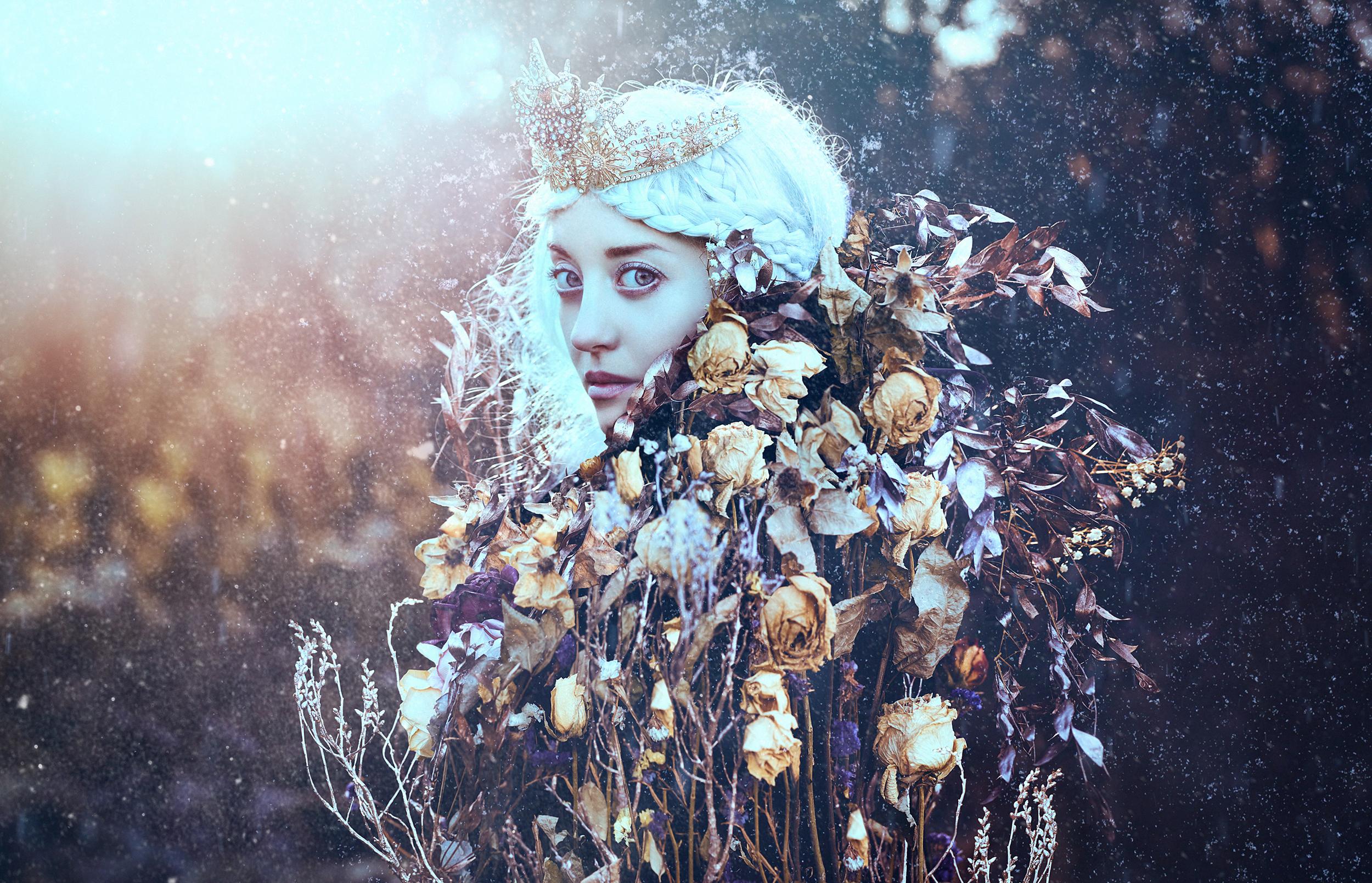 Winter's Wildflower II