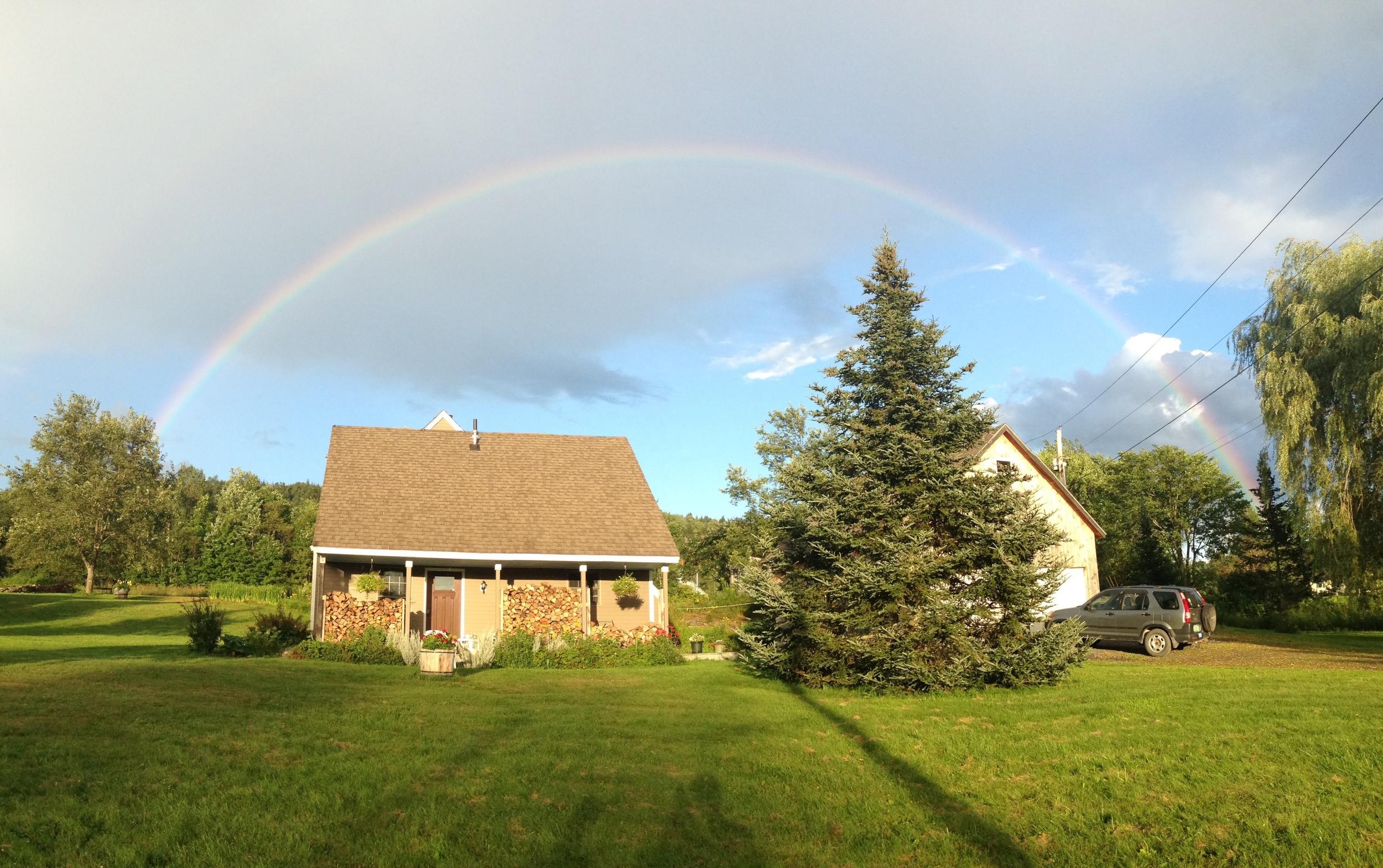 Mother Nature's work of art, last evening