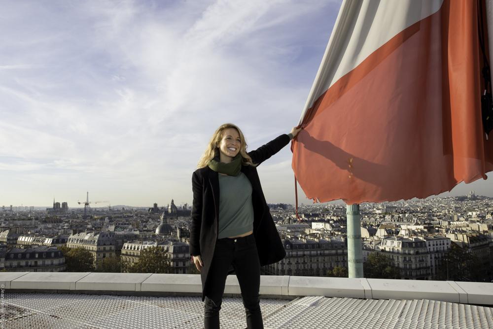 Visite des toits de l'Opéra national de Paris qui vont accueillir bar à bière et potagers au printemps 2017
