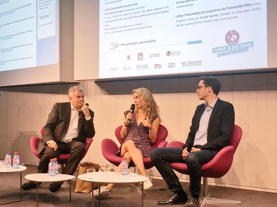 Gilles Berhault, Cyrielle Hariel et Pacome Rupin - AFD - 14/06/17