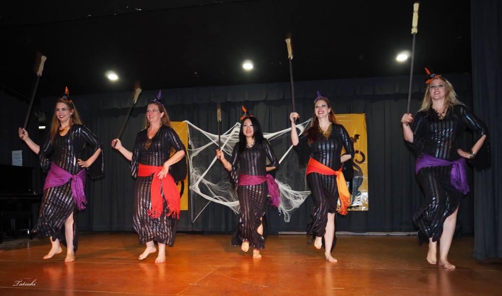 SilkRain Performs at 2015 Halloween Hafla