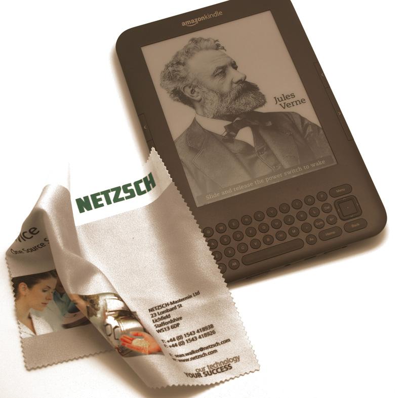 Microfibre cloths for Netsch