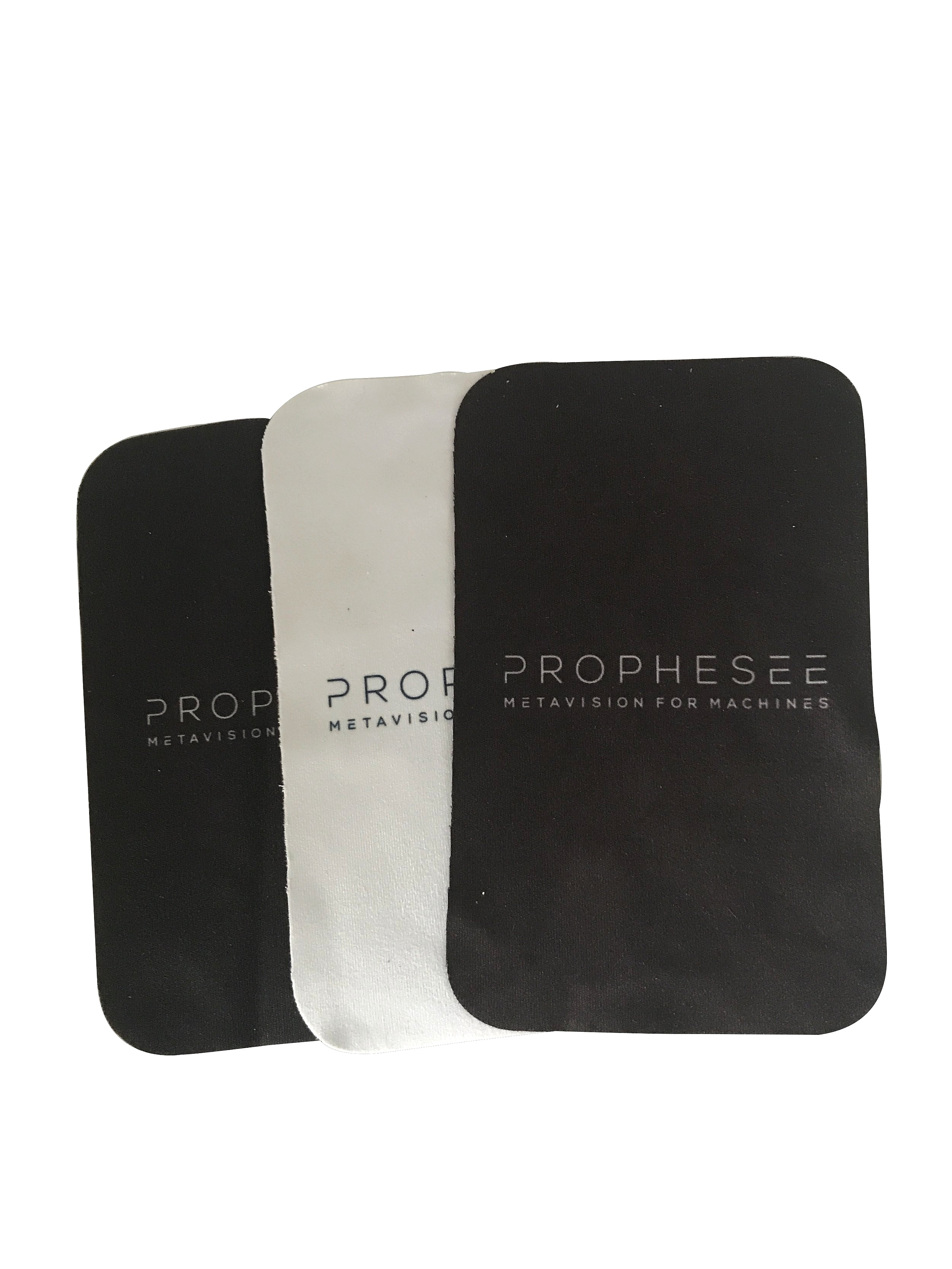 Printed Microfibre Cloth with round edges