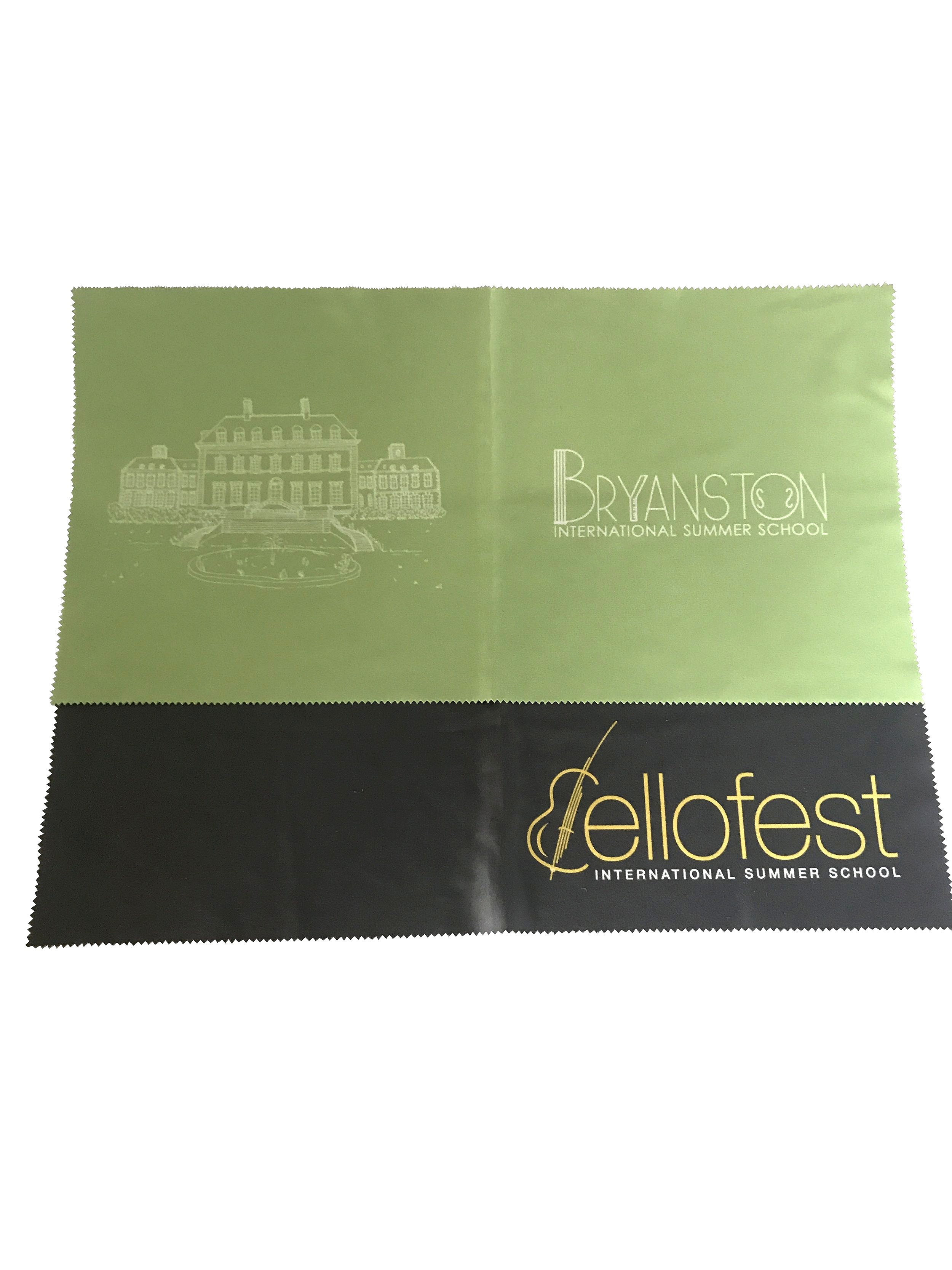 Extra large printed microfibre cloth