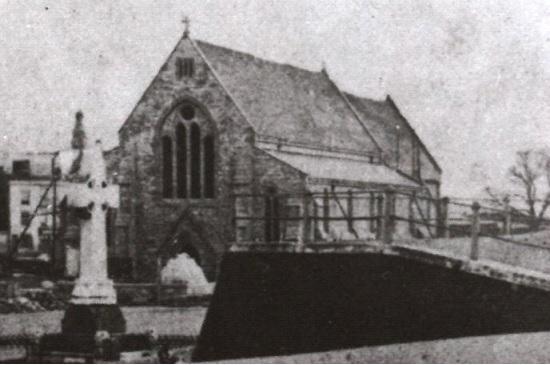 The Garrison Church in 1870
