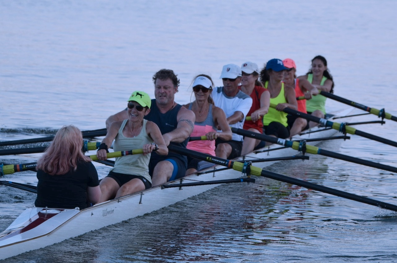 Learn to row in three weeks! - And then race…